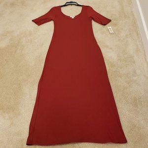 BAR III Red Dahlia Maxi Dress
